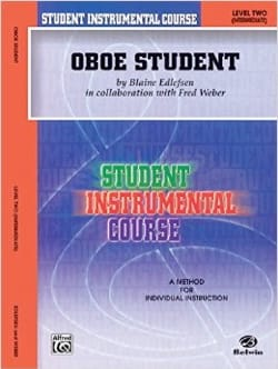 Edlefsen Blaine - Student instrumental course: Oboe Student 2 - Sheet Music - di-arezzo.co.uk