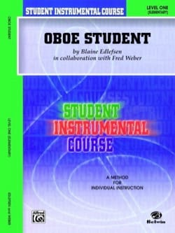Edlefsen Blaine - Student instrumental course: Oboe Student 1 - Sheet Music - di-arezzo.co.uk