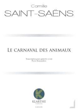 Camille Saint-Saëns - The Carnival of Animals - Woodwind Quintet - Sheet Music - di-arezzo.co.uk