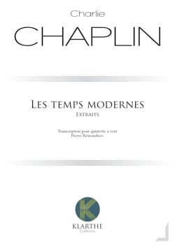 Charlie Chaplin - Les Temps Modernes, extraits - Partition - di-arezzo.fr