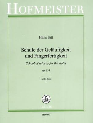 Hans Sitt - Schule der Geläufikeit .. op. 135 vol. 1 - Violino - Partitura - di-arezzo.it