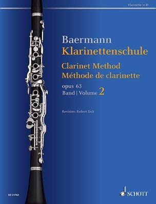 Carl Baermann - Méthode de Clarinette, op. 63 - Volume 2 - Partition - di-arezzo.fr
