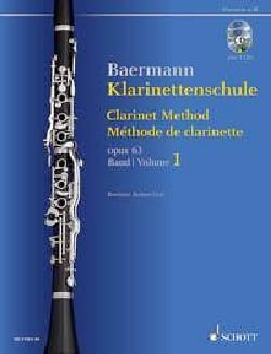 Carl Baermann - Méthode de Clarinette, op. 63 - Volume 1 + 2 CDs - Partition - di-arezzo.fr