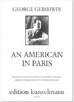 Un Américain à Paris GERSHWIN Partition OCTUORS - laflutedepan
