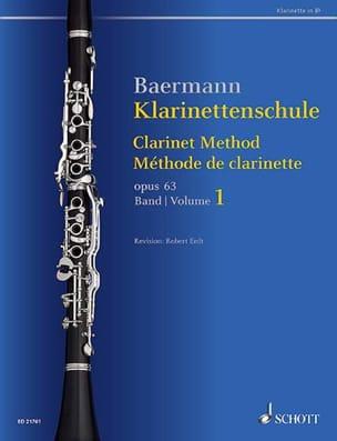 Carl Baermann - Método Clarinet, op. 63 vol. 1 - Partitura - di-arezzo.es