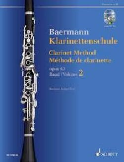 Carl Baermann - Méthode de Clarinette, opus 63 Vol. 2 2 CDs inclus - Partition - di-arezzo.fr