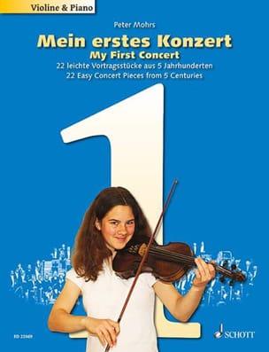 Peter Mohrs - Mein erstes Konzert Vol. 1 - Violon et piano - Partition - di-arezzo.fr