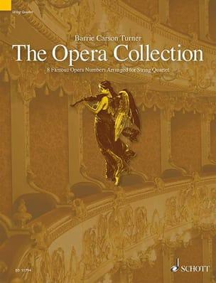 The Opera Collection - Quatuor à cordes Partition laflutedepan