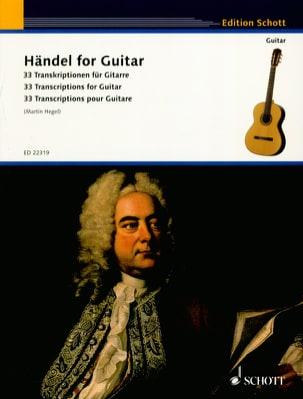 HAENDEL - Haendel for Guitar - Guitar - Sheet Music - di-arezzo.co.uk