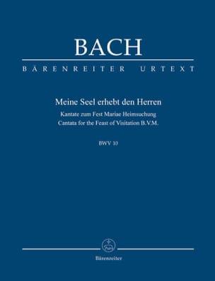 BACH - Cantate BWV 10 - Conducteur poche - Partition - di-arezzo.fr