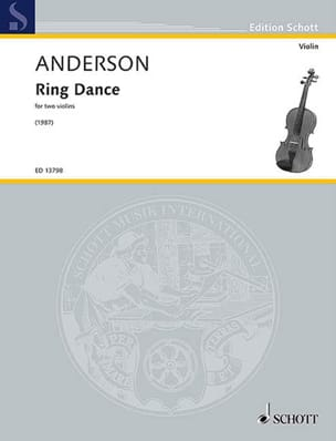 Julian Anderson - Ring Dance - 2 Violons - Partition - di-arezzo.fr