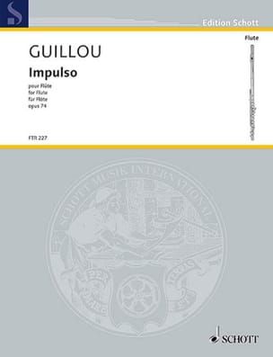 Jean Guillou - Impulso, op. 74 - Flauta sola - Partitura - di-arezzo.es
