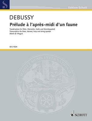 DEBUSSY - Prélude à l'après-midi d'un faune - Septuor - Partition - di-arezzo.fr