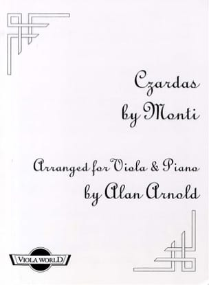 Vittorio Monti - Czardas - Viola and piano - Sheet Music - di-arezzo.com