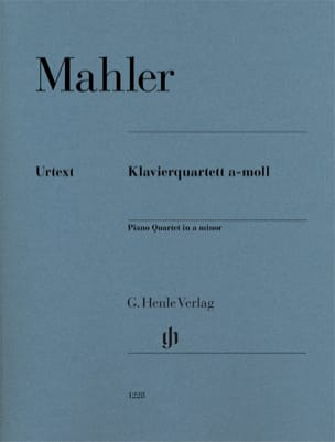 Gustav Mahler - Quartet for strings and piano in A minor - Sheet Music - di-arezzo.co.uk