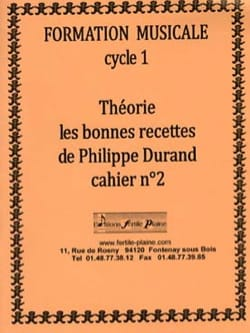 Philippe Durand - Theory, The Good Recipes, Volume 2 - Sheet Music - di-arezzo.co.uk