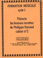 Philippe Durand - Theory, the good recipes - Volume 2 - Sheet Music - di-arezzo.co.uk