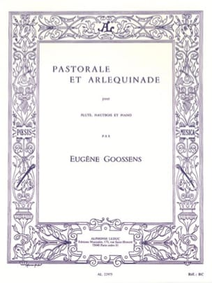 Pastorale et Arlequinade - Trio Flûte Hautbois Piano laflutedepan