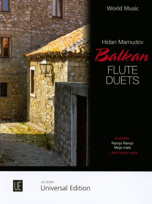 Traditionnels - Balkan Flute Duets - 2 Flutes - Sheet Music - di-arezzo.co.uk