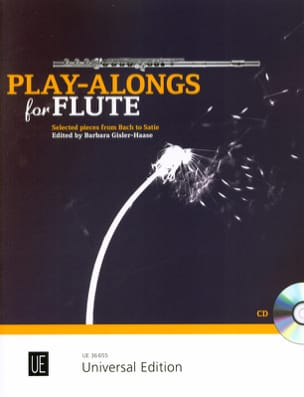 - Play-alongs for Flute - Flûte et piano - Partition - di-arezzo.fr