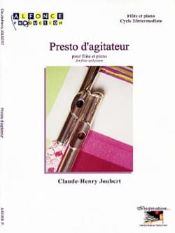 Claude-Henry Joubert - Presto d'agitateur - Partition - di-arezzo.fr