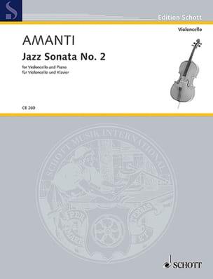 Jazz Sonata n° 2 - Violoncelle et piano - laflutedepan.com