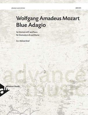 Wolfgang Amadeus Mozart - Blue Adagio - Clarinette et piano - Partition - di-arezzo.fr