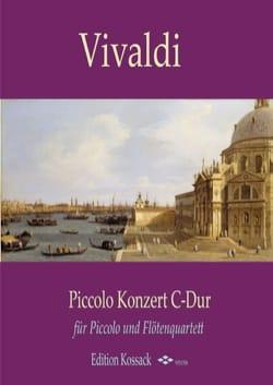 VIVALDI - Piccolo Concerto in C Major - Flute Ensemble - Sheet Music - di-arezzo.com