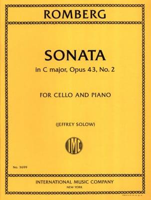 Sonata, op. 43 n° 2 - Violoncelle et piano laflutedepan