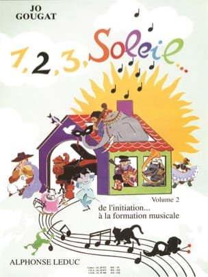 Jo Gougat - 1, 2, 3, Sun Volume 2 - Sheet Music - di-arezzo.co.uk