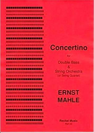 Concertino (Double Bass & String Orchestra) - laflutedepan.com