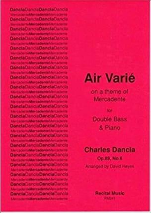 Air varié on a theme of Mercadante op.89, n°6 DANCLA laflutedepan