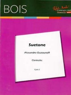 Alexandre Ouzounoff - Suetonius - Sheet Music - di-arezzo.co.uk