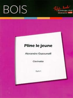Alexandre Ouzounoff - Pliny the young - Clarinet alone - Sheet Music - di-arezzo.com