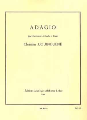 Christian Gouinguené - Adagio - Partition - di-arezzo.fr