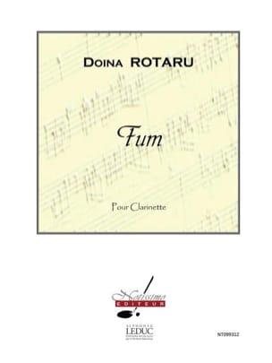Fum - Doina Rotaru - Partition - Clarinette - laflutedepan.com