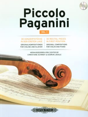 - Piccolo Paganini Vol. 1 - Violin and piano - Sheet Music - di-arezzo.co.uk