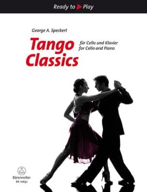 - Tango Classics - Violoncelle et piano - Partition - di-arezzo.fr