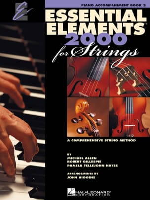 Essential elements 2000 for strings - book 2 (piano accompaniment) - laflutedepan.com