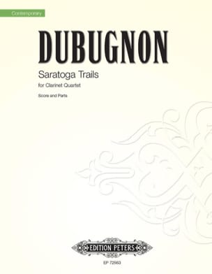 Saratoga Trails - Richard Dubugnon - Partition - laflutedepan.com
