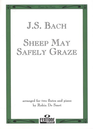Sheep may safely graze - 2 Flûtes/piano BACH Partition laflutedepan