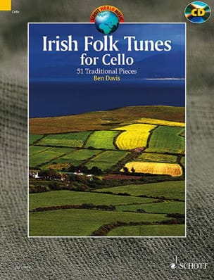 Irish Folk Tunes - Cello - Traditionnels - laflutedepan.com