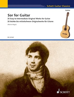Sor for Guitar - 35 works Fernando Sor Partition laflutedepan
