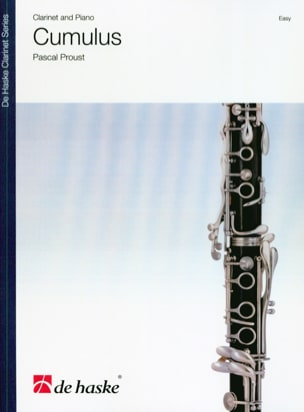 Pascal Proust - Cumulus - Clarinette et piano - Partition - di-arezzo.fr