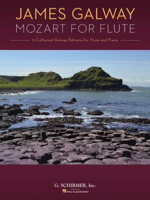 MOZART - James Galway Mozart for Flute - Sheet Music - di-arezzo.co.uk