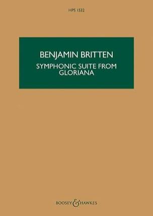 Benjamin Britten - Symphonic Suite from Gloriana - Conducteur - Partition - di-arezzo.fr