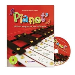Guillaume Saint-James - Pianot method - Sheet Music - di-arezzo.co.uk