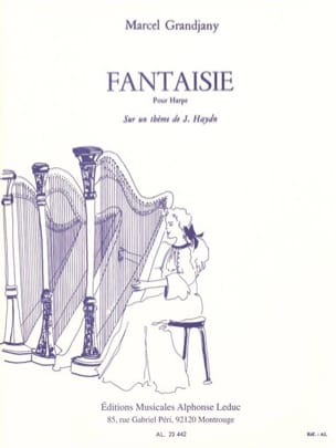 Fantaisie Marcel Grandjany Partition Harpe - laflutedepan