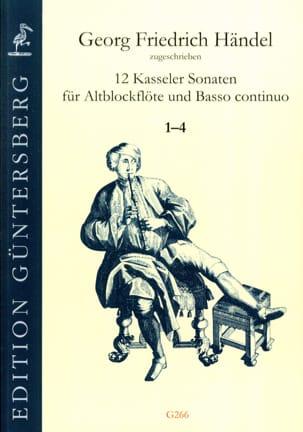 HAENDEL - 12 Kasseler Sonaten 1-4 - Alto Recorder and BC - Sheet Music - di-arezzo.com