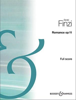 Romance, op. 11 - Conducteur Gerald Finzi Partition laflutedepan